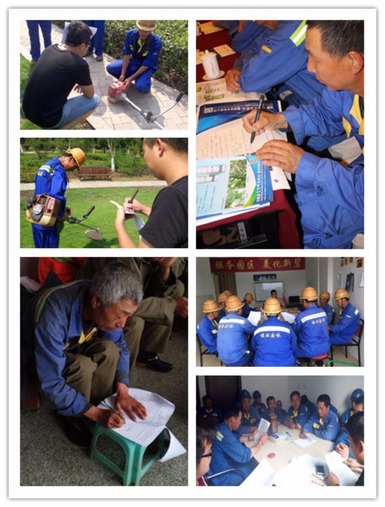 丽水绿环园林安全培训活动
