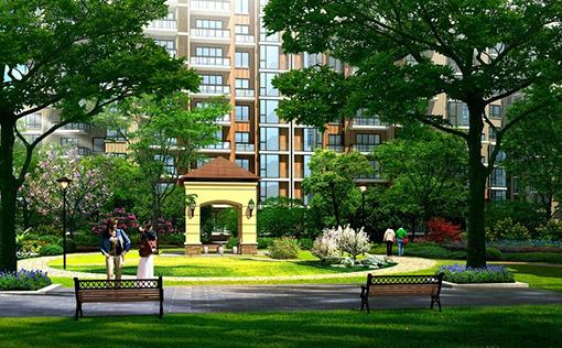 丽水绿化园林公共庭院绿化